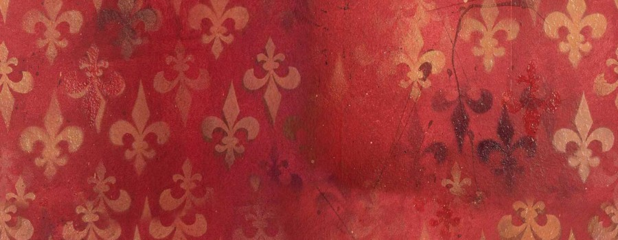 Das rote Zimmer in der Theaterinsel Rosenheim